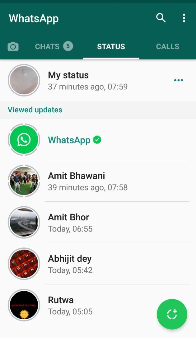 How To Use WhatsApp's New Status
