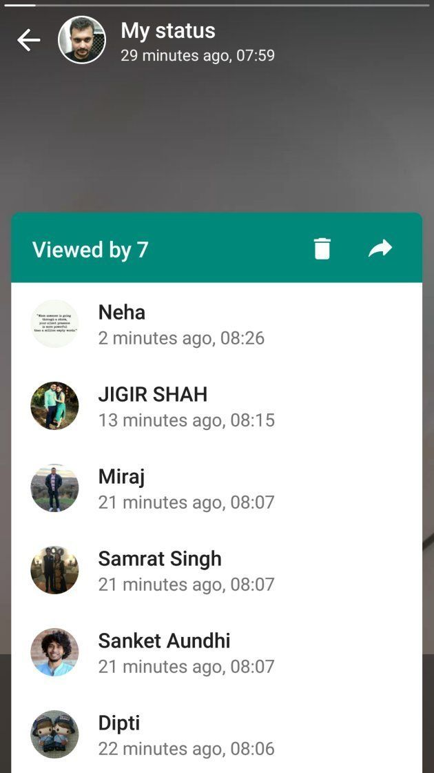 How To Use Whatsapps New Status Feature Huffpost India