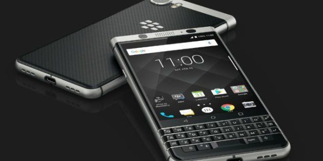 BlackBerry Lives On, Launches Last Smartphone 'KEYone' With