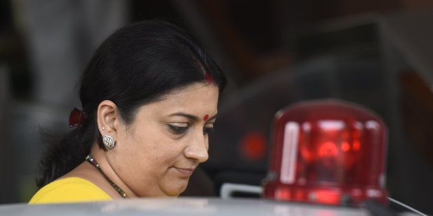 Smriti Irani's 'Fake Degree' Row Exhumed After Another Petition Was Filed In Delhi HC Against