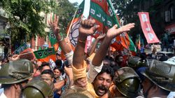 BJP Workers, Cops Injured As Protest In Kolkata Turns