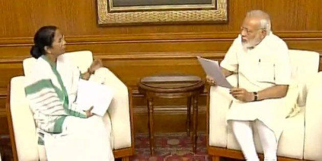 Mamata Banerjee Meets Narendra Modi, Discusses Developmental