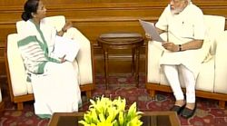 Mamata Banerjee Meets Narendra Modi, Discusses Developmental