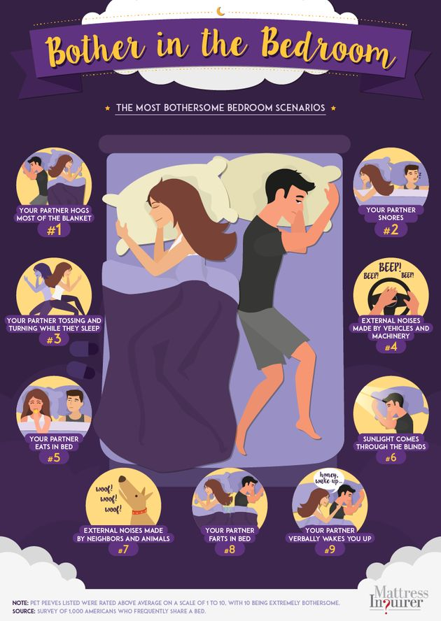 Couples' Biggest Pet Peeve In The Bedroom Surprisingly Isn't