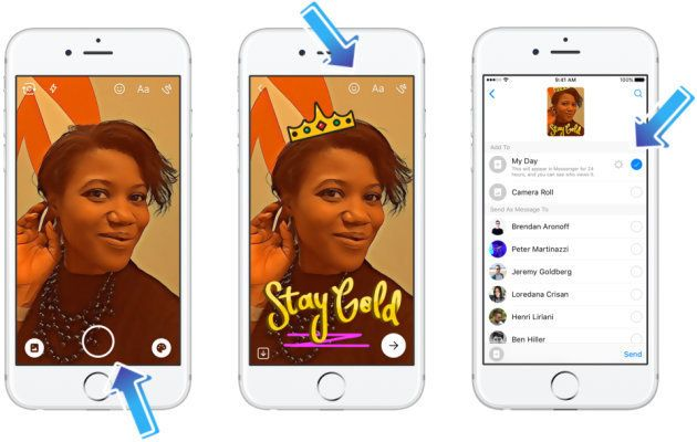 After Instagram and WhatsApp, Facebook Messenger Rolls Out A Snapchat Story Inspired