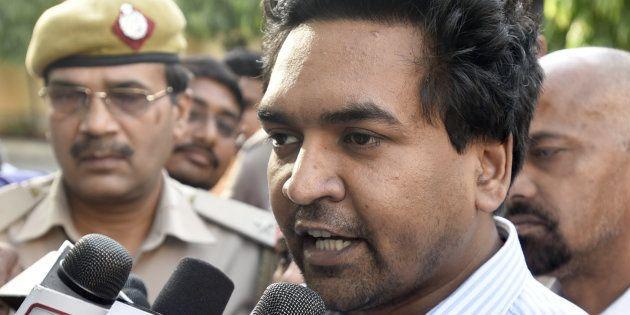 Kapil Mishra Claims Arvind Kejriwal Ordered AAP Legislators To Beat Him Up In Delhi Assembly. Here's