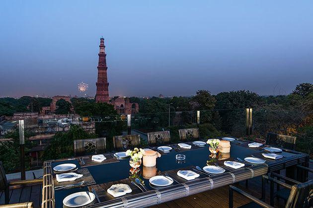 We Found The Prettiest Outdoor Restaurants In Delhi For Your Next 16