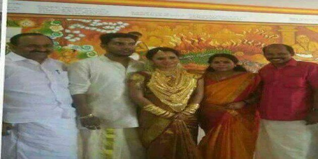 CPI MLA's Daughter, Decked In Gold, Causes Party Much Embarrassment In