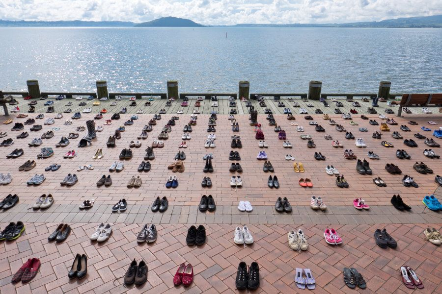 The Shoe Project was designed to bring awareness to the fact that suicide can affect anyone, from any...