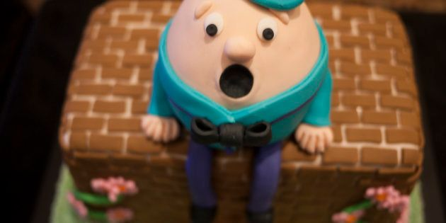 This Humpty cake also has