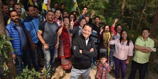 Bimal Gurung, supremo of Gorkha Janmukti Morcha and Chief Executive of Gorkhaland Territorial Administration,...
