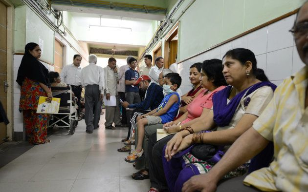 NEW DELHI, INDIA MAY 29: The picture featuring TB Patients in Patel Chest Hospital on May 29, 2013 in...
