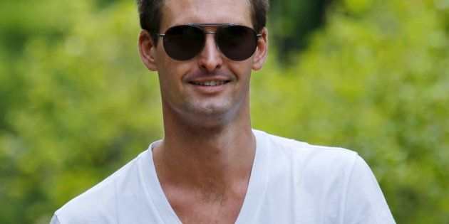 Apparently, The Snapchat CEO Said He Doesn't Want To Expand In 'Poor Countries Like Spain And