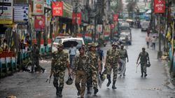 Paramilitary Troops Patrol The Streets Of Darjeeling As GJM Calls For A Shutdown Defying Govt