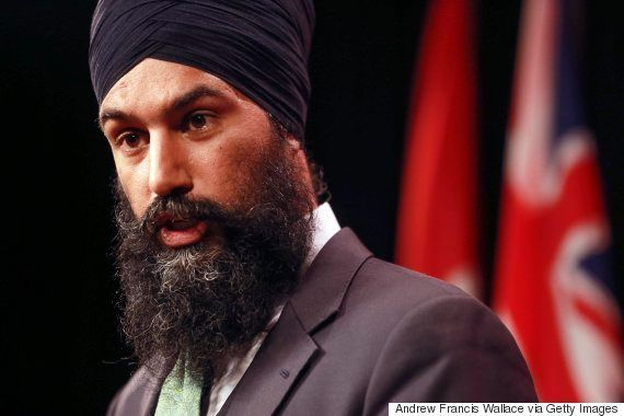 Jagmeet Singh, NDP Leadership Candidate, Channels Robin Hood For Tax