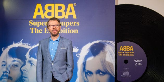 Bjorn Ulvaeus at the launch of the 'Abba: Super Troupers' exhibition, at the Royal Festival Hall,