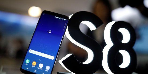 Samsung Galaxy S8's Fingerprint Sensor