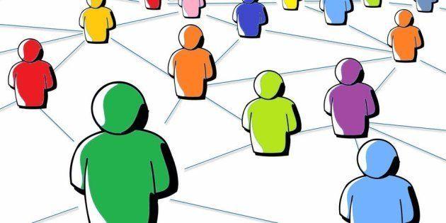 Social links.