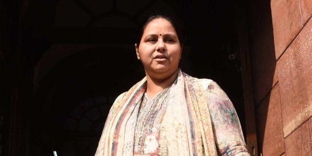 Income Tax Department Seizes Misa Bharti's Benami