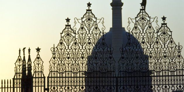 The Rashtrapati Bhavan, residence of the President of India, New Delhi,