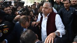 Mulayam Singh Meets Former MP Prajapati In Jail, Rubbishes Rape Charges As 'False