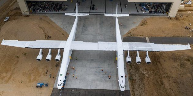 This Gigantic Aircraft, The World's Biggest, Has A 117-Metre