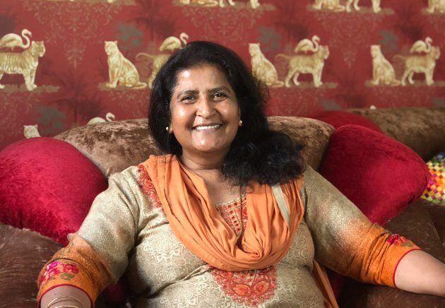 Chauhan's aunt Sudha.