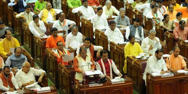 File photo of Uttar Pradesh Assembly on July 11, 2017 in Lucknow,