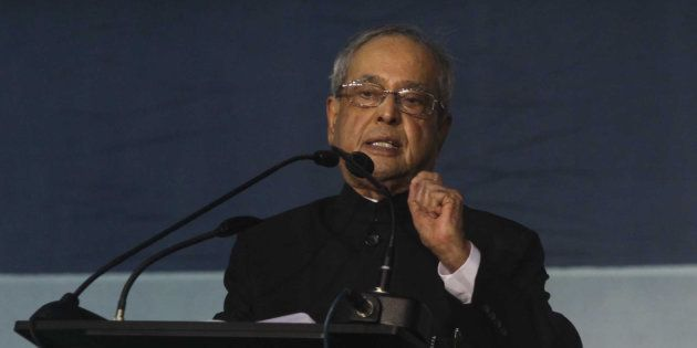 File photo of Pranab Mukherjee, President of