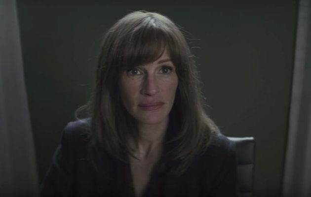 Julia Roberts in a still from Homecoming.