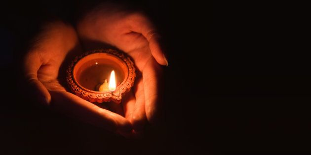 Diyas are safer for the environment and make your home look beautiful.