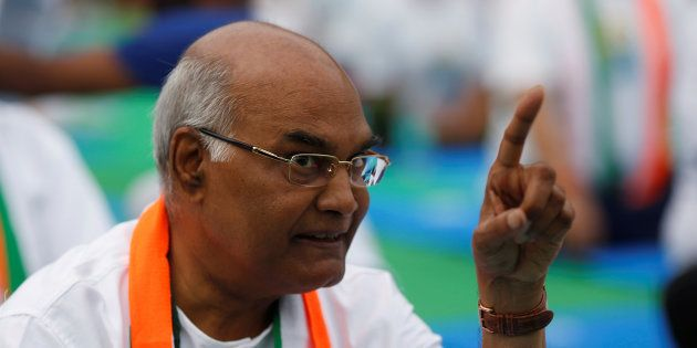 File photo of Ram Nath Kovind, India's 14th President of