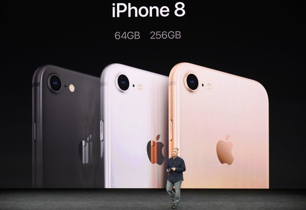Phil Schiller, senior vice president of worldwide marketing at Apple Inc., speaks about the iPhone 8...
