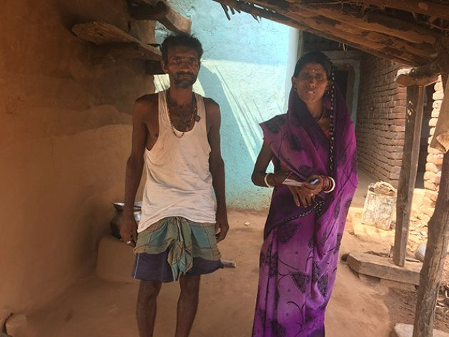Sarita Devi and her husband, from Rajabar village, relied on the PDS ration for their monthly