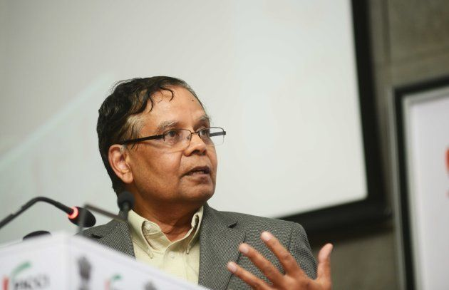 Dr. Arvind Panagariya, Vice Chairman of NITI Aayog, at the National launch of India Energy Security Scenarios,...