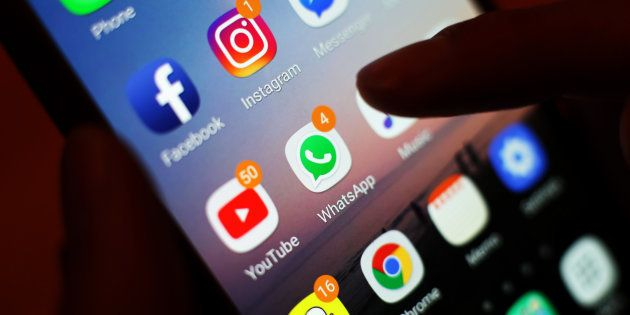 Representational image of social media applications. The Indian government is using a software called AASMA to track the social media posts of people in real time around the clock, and perform sentiment analysis, to track citizens.