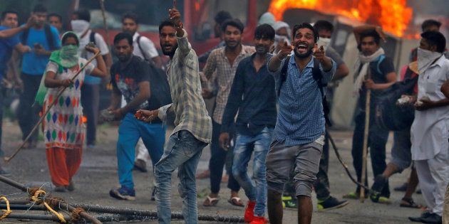 Violence broke out in Panchkula in August 2017 as a local court held Dera Sacha Sauda chief Gurmeet Ram Rahim Singh guilty in a rape case.