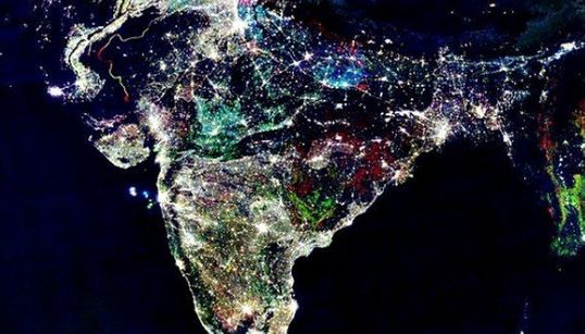 This Famous Picture Of India From Space On Diwali Is Fake—Please Stop Forwarding