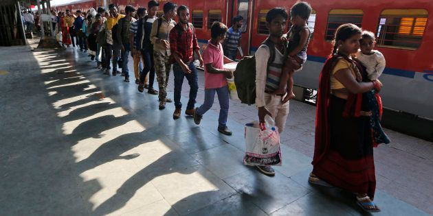 Around 20 million people travel by train in India every day on