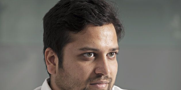 Binny Bansal, former Group CEO of Flipkart, during an interview in Bengaluru,