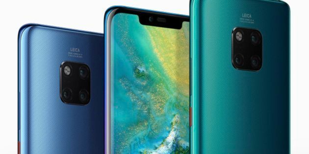 The Huawei Mate 20 Pro comes with three cameras on the