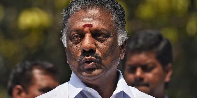 O Panneerselvam Sworn In As Tamil Nadu Deputy Chief