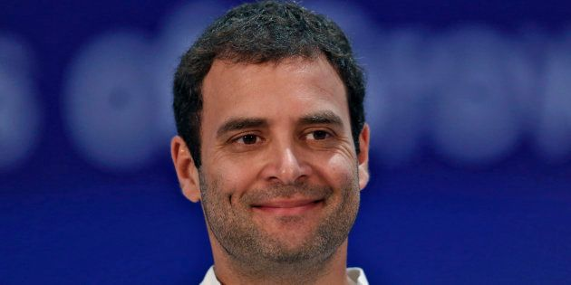 File photo of Rahul Gandhi, Congress party vice president and son of party chief Sonia