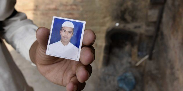 A file photo of Junaid who was murdered after a scuffle that broke out in a train over a seat in Haryana's...