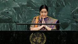 Pakistan Is An 'Export Factory For Terror', Says Sushma Swaraj In Fiery UN