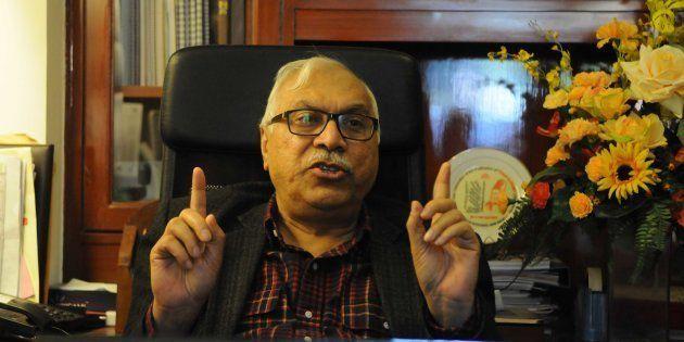 GURGAON, INDIA - JANUARY 6: Shahabuddin Yaqoob Quraishi, former Chief Election Commissioner of India,...