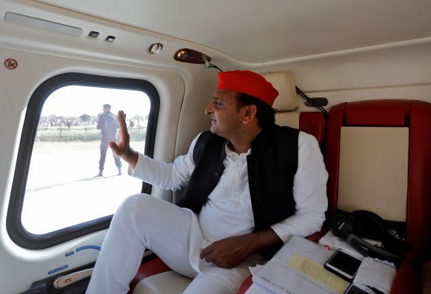 Akhilesh Yadav, Chief Minister of the northern state of Uttar Pradesh and Samajwadi Party (SP) President,...