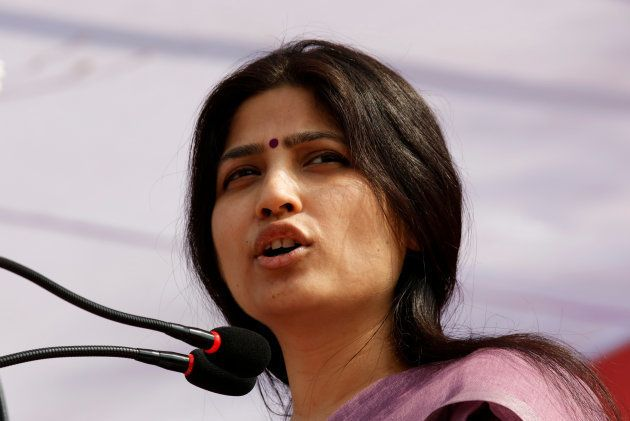 Dimple Yadav, wife of Samajwadi Party (SP) president and chief minister of the northern state of Uttar...