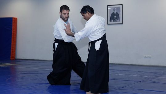 PHOTOS: Aikido Not, Here's Proof Rahul Gandhi Actually Practices Japanese Martial