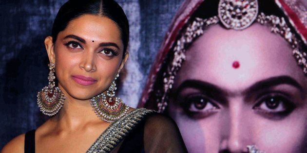 Indian Bollywood actress Deepika Padukone poses for a photograph during a promotional event for the forthcoming...